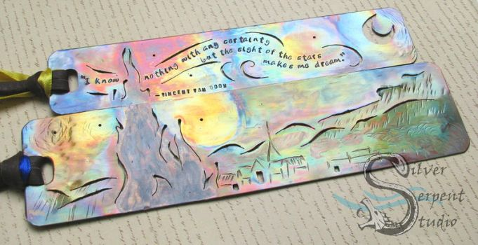 Van Gogh Bookmark Set by PurlyZig