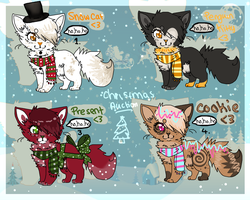 Christmas AUCTIONS 2! -Open by felicities