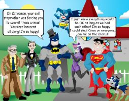 Disney's Batman 3:The Wedding by memorypalace