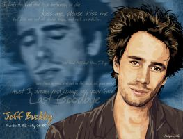Jeff buckley by KDLIG