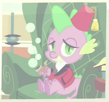 Spike with Swag on by thaBIGDADDY5
