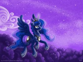 Luna on Patrol by KP-ShadowSquirrel