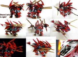 Zoid Custom - Desolate Liger by Juno-Uno