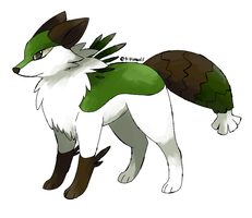 Fakemon Foreox by Kipine