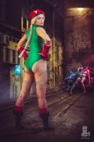 Cammy from Street Fighter by elleimarie
