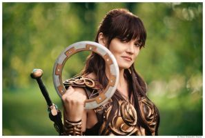 Xena: Warrior Princess by TophWei