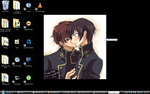 Lulu+Suzaku Desktop Screenshot by RAWRimgonaeatchoo