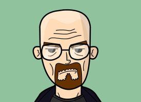 Breaking Bad: Walter White by creepyboy