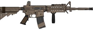 Balleworn M4 Carbine by Shockwave9001