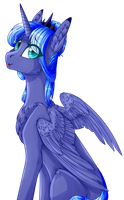 Princess Luna  Big Collab  (NightStarss) by twinke19