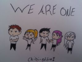 We are One Chibi by Coolcatz56