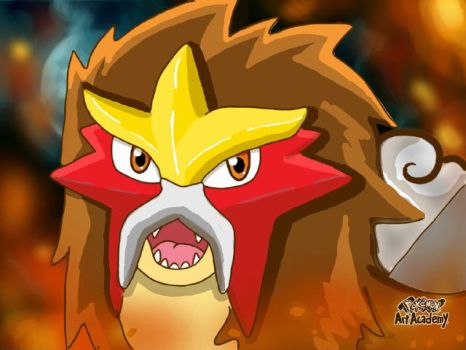 Entei by Loutregarou
