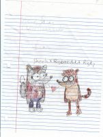Sheela X Rigby by S-ombre-StarIight