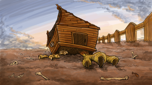 The chicken house of doom by NoreyDragon