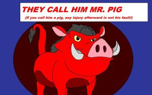 They Call Him Mr. Pig by kylgrv