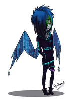 some Pixel Wings by wyum