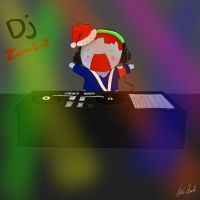 Dj zombie in the house by chibi-raiden