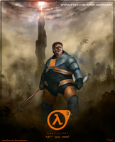 Gabe Newell: For Posterity by DarrenGeers