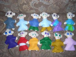 The plushie project11 mini3 by SO6W