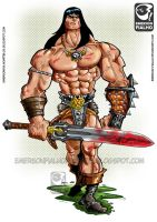 Conan the Conqueror by Emerson-Fialho