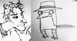 Perry and Doofensmwhatever....... by FinnishVampire