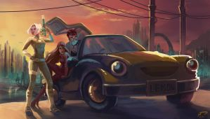 Lethal Lemon Car Crew by Majoh