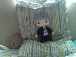 I bought a Lestrade Plushie :3 by Americanaooni