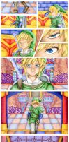 Skyward Sword Dungeon Cutscene by stray-life
