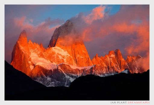 Fitz Roy Sunrise by Ian-Plant