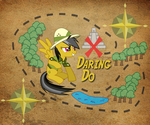 Daring Do Android 960x800 BG by TecknoJock