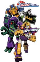 Transformers Animated by ninjha