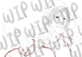 Allen and Benjamin WIP by xIce-Wolf
