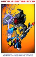 Wolverine vs Darth Maul by JLillustrator