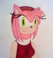 :Amy Rose: by GothNebula