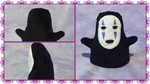 No Face Plush by simplychicgeek
