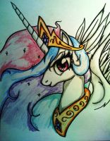 Princess Celestia by Tomek2289