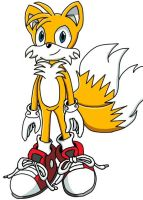 """Miles """"Tails"""" Prower by FriskeCrisps"""