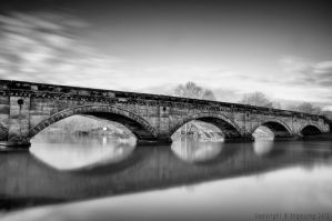 Willington bridge by Engazung