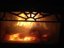 Wood Stove by CrazyLadyII