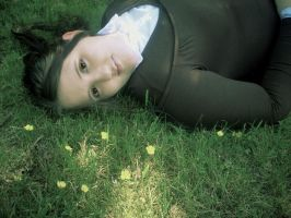 In the Meadow by Rina-Hatakeda