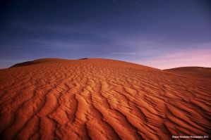 Night in the sands by KhaledPhotography