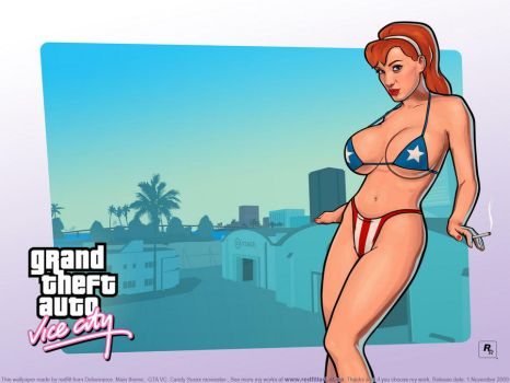 GTA VC Candy Suxxx moviestar by redfill