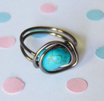 Turquoise Ring by SolarCrush