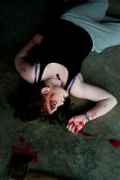Gore makeup 01 by static-sidhe