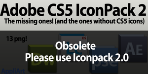 Adobe CS5 - IconPack 2 by AppliArt