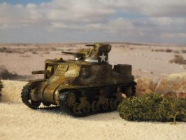 M3 Lee in Egypt by Baryonyx62