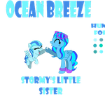 MLP FiM OC: Ocean Breeze by Sonic-Tube
