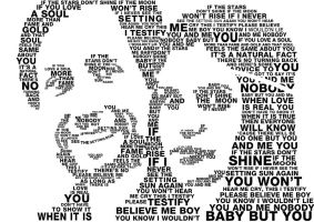 You and me typography portrait by erezija