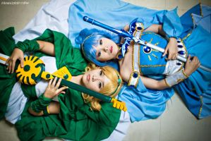 Magic Knight Rayearth - Umi x Fuu by alainbrian