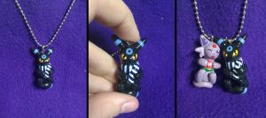 Shiny Umbreon Charm 2 by Sara121089